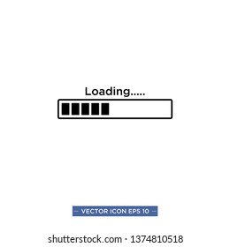 loading icon vector illustration