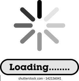 Loading, Streaming, Buffering, Play, Go. please wait...