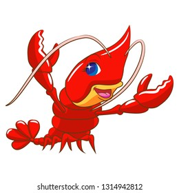 Lobster clipart cartoon