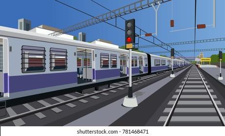 Local Indian Railway