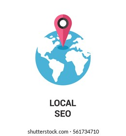 local seo icon.