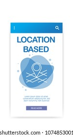 LOCATION BASED INFOGRAPHIC
