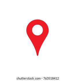 Location icon, gps marker symbol