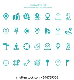 Location Icon Set