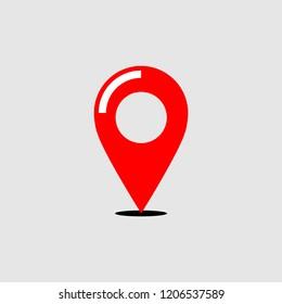Location icon vector art design