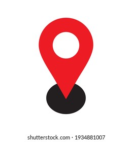 location icon vector illustration on white background