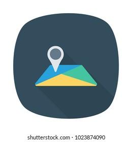 location map world