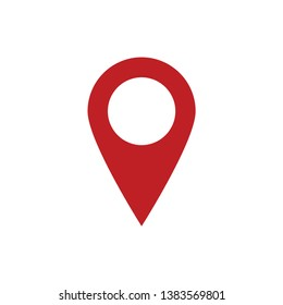 location pin icon vector design