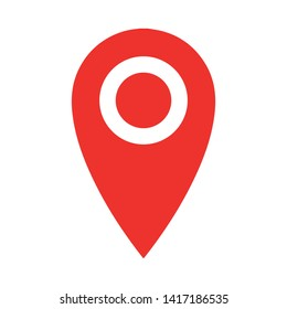 location place - Map pointer icon. GPS location symbol - Map pin. Map pointer icon. GPS location