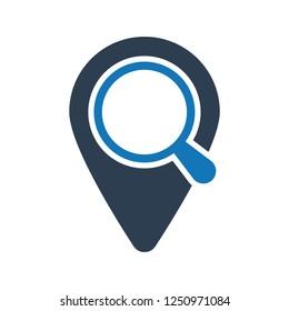 Location Search Icon