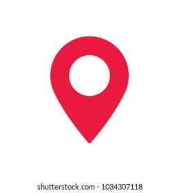 Location vector icon, placeholder symbol