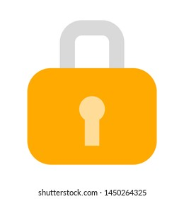 lock icon. Logo element illustration. lock design. colored collection. wifi concept. Can be used in web and mobile