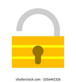 Lock icon - security padlock