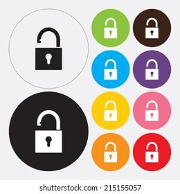 Lock icon - Vector