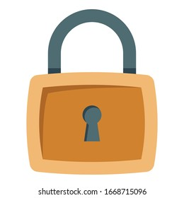 Lock, protection Color Vector icon which you can easily modify or edit