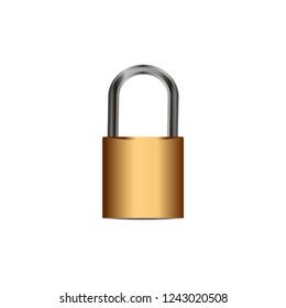 lock vector con cept