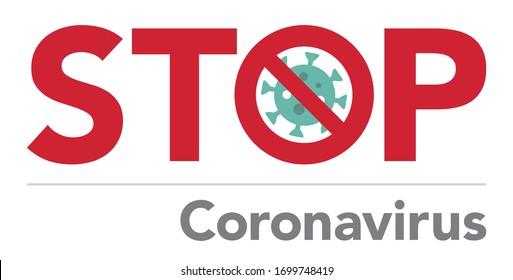 Lockdown Pandemic stop Coronavirus outbreak covid-19 symptoms Lock down sign Stay at home