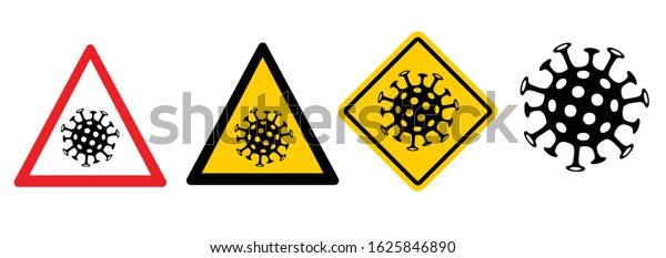 Lockdown Pandemic stop Novel Coronavirus outbreak covid-19 symptoms Wuhan China Travel corona Europe warning and quarantine with mouth cap mask Vector mouthcap protect icon Lock down sign Stay at home