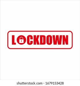 lockdown signs vector, lockdown icon vector, lockdown symbols vector