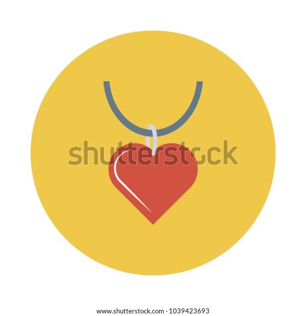 locket heart  necklace