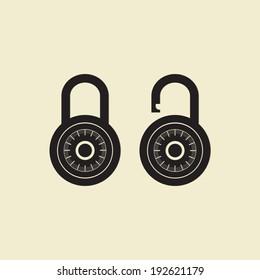 Locks icon - Vector