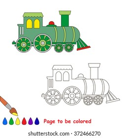 Coloring Book For Children Visual Game