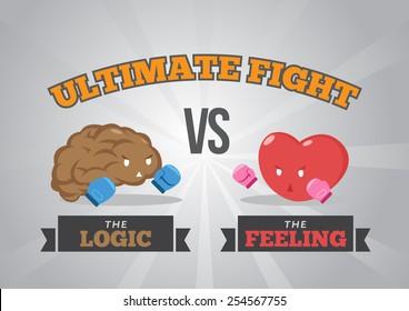 Logic versus feeling