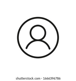Login Icon Vector Line Symbol