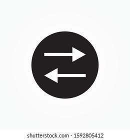 login,logout icon design vector illustration