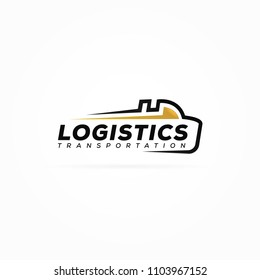 Logistic Truck Transport logo