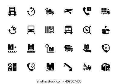 Logistics Delivery Vector Icons 3