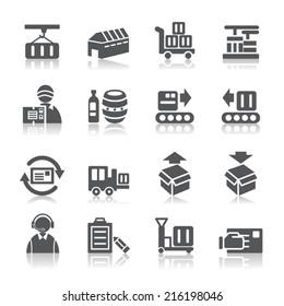 Logistics and Transport Icons