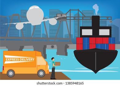 Imágenes, fotos de stock y vectores sobre Loading Dock