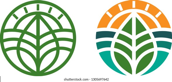 logo for agribusiness. Environmental Protection