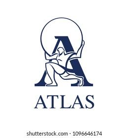 Logo Atlas vector EPS 10
