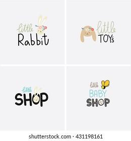 logo baby shop template