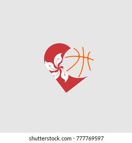 logo basketball and country flags