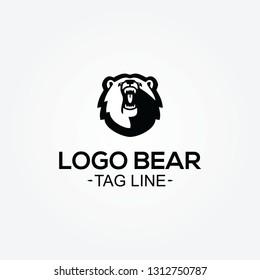 LOGO BEAR vector logo