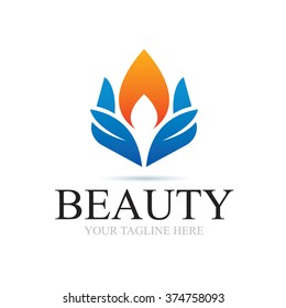 Logo Beauty In Nature Icon Element Template Design Logos