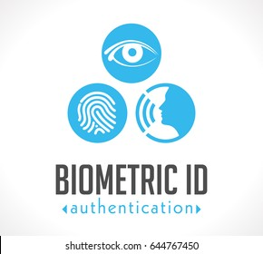 Logo - Biometric ID authentication