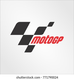 """the logo of the brand """"MotoGP"""" vector template"""