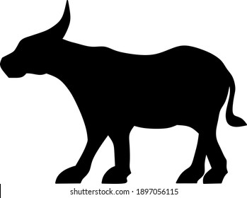 Logo Buffalo Vector, symbol, icon illustration