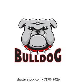 Logo bulldog head