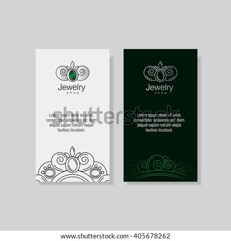 Logo business card templates jeweler workshop stock vector royalty logo and business card templates for the jeweler workshop goldsmith jewelry store silver vintage accmission Image collections