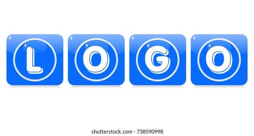 logo buttons