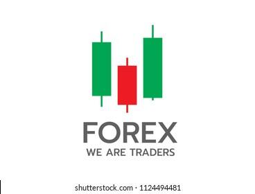 Logo forex trading