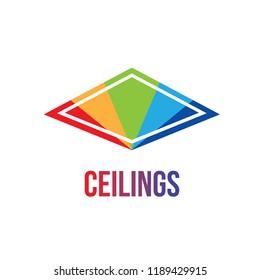 the logo of ceilings, floors