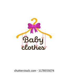 Logo for children's clothing store.