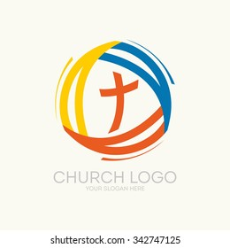 Logo of the church. Trinity