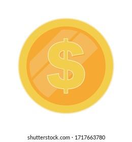 Logo coin vector. Investment logo. Financial or business concept.